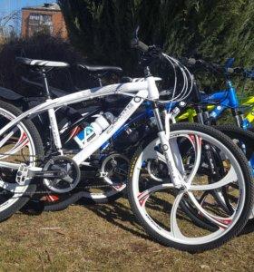 Велосипеды bmw на литье