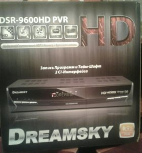 Цифровой Спутниковый HDTV Ресивер DREAMSKY новый