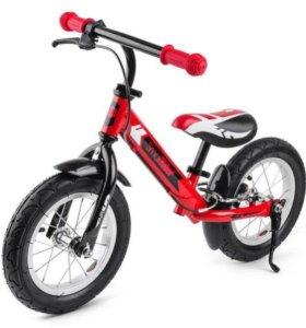 Детский беговел Roadster AIR(Надувные Колеса)