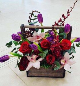 Декоративные ящики для цветов