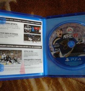 Диск для PS4 NHL 2017