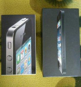 Коробки от iphone и lenovo