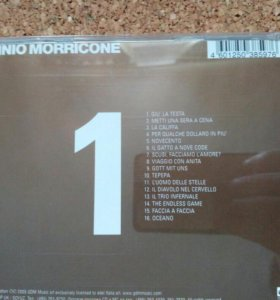 ЕNNIO MORRICONE gold edition CD1