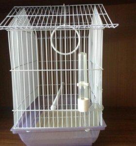 Клетка переноска для попугаев
