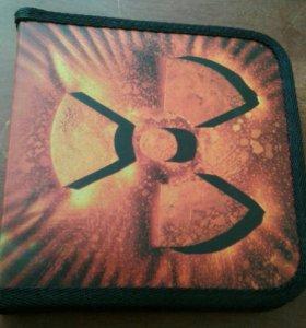 Бокс-портмоне для дисков