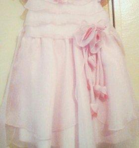 Платье нарядное р98