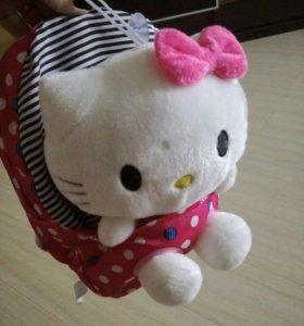 Рюкзак 🎒с игрушкой Kitty новые 🤗🛍🚚