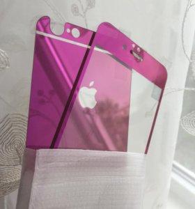 Цветное стекло на iPhone 6/6S