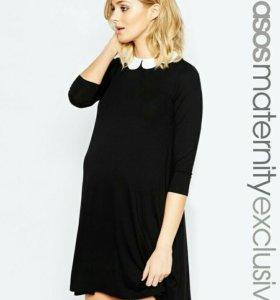 Черное платье для беременных
