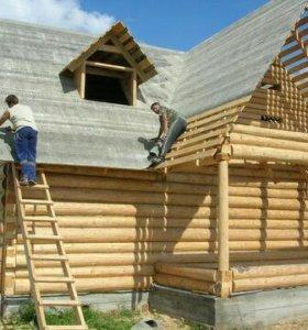 Строим деревяные дома,бани,ремонт квартир