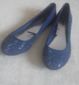 Новые Туфли балетки