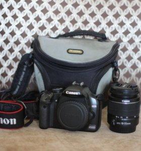 Canon 450D и объектив 18-55мм