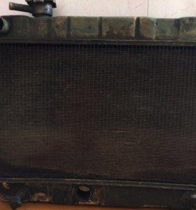 Латунный радиатор на классику, жигули, ваз 2101-03