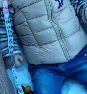 Безрукавка детская 6-10 месяцев