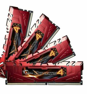Память DDR4 G.Skill Ripjaws 16GB (4x4) 3000Mhz