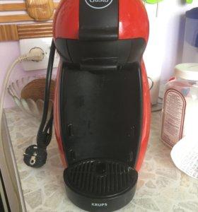 Кофемашина Krups KP 1006 piccolo Nescafé