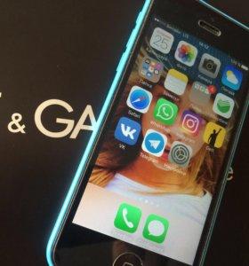 iPhone 5c 8гб отличное состояние