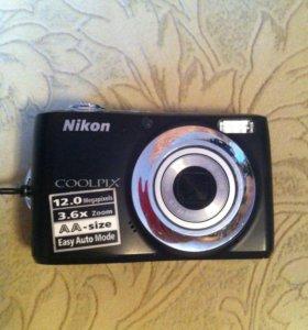 Цифровая фотокамера Nikon coolpix L22