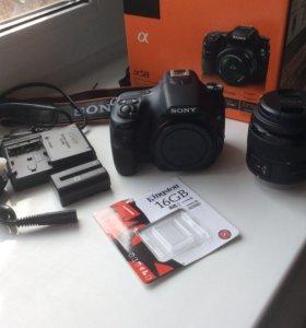 Фотоаппарат зеркальный Sony Alpha SLT-A58 Kit