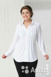 Новая Белая блузка