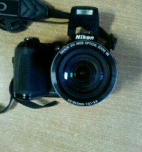 Фотоаппарат Nicon LI20+ чехол
