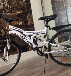 Велосипед горный (двухподвесный)