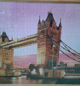 """Готовый паззл """"Лондонский мост"""""""
