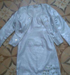 Платье и пиджак 42-44 размер