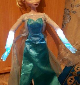 Поющая кукла Эльза из мультфильма Холодное Сердце