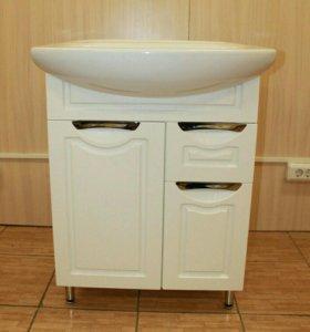 Комплект Мебели для ванной комнаты 65 новый
