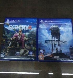 FarCry 4, Star Wars: Battlefront для PS4