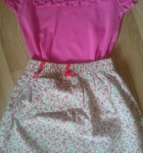 Комплект ( юбка +футболка)