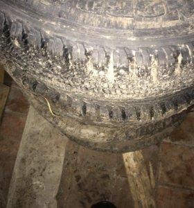 Зимние колёса на штамповках на ваз