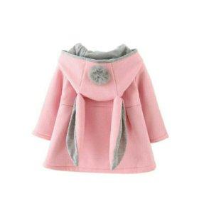 Новое демисезонное Пальто для девочки