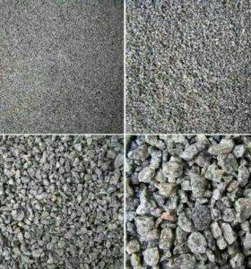 Щебень,песок,чернозём и др.5-25т.