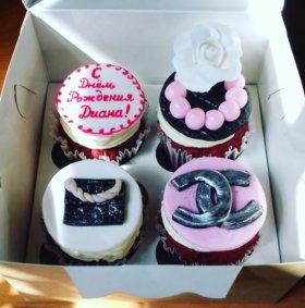 Торты,кексы,пряники ручной работы