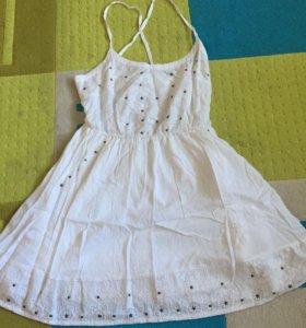 Летнее платье bershka