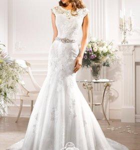 Свадебное платье Navi blue bridal