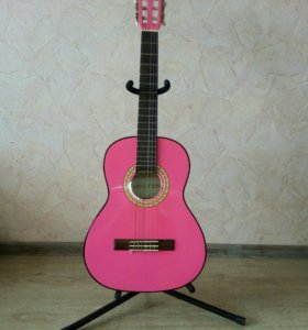 Гитара Veston C-50 3/4 Pink с чехлом