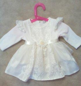 Нарядное платье на маленькую принцессу