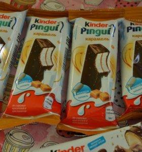 Пирожное kinder со вкусом карамели(новинка)