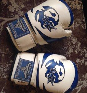 Перчатки боксерские детские RBG-172 3G blue