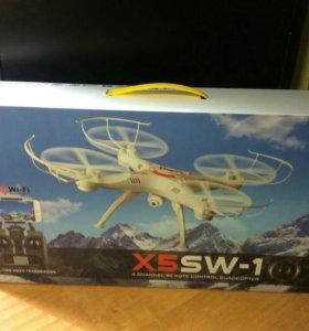 Квадрокоптер с fpv wifi camera, пульт, новый