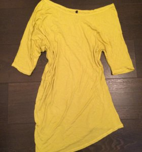 Асимметричная длинная футболка / туника