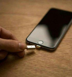 Магнитный usb кабель Android