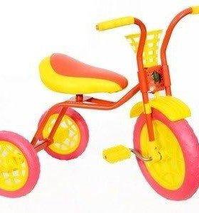 Новый трехколёсный велосипед 🚴 для детей с 2х лет