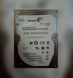 жесткий диск + подарок.