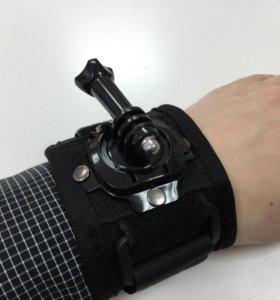 GoPro крепление на запястье, на руку