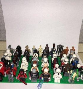 Минифигурки Лего звёздные войны Lego Star Wars