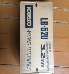 Электроды Kobelco LB-52u 3.2 - 4.0 mm